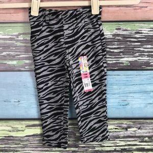 NWT Zebra leggings
